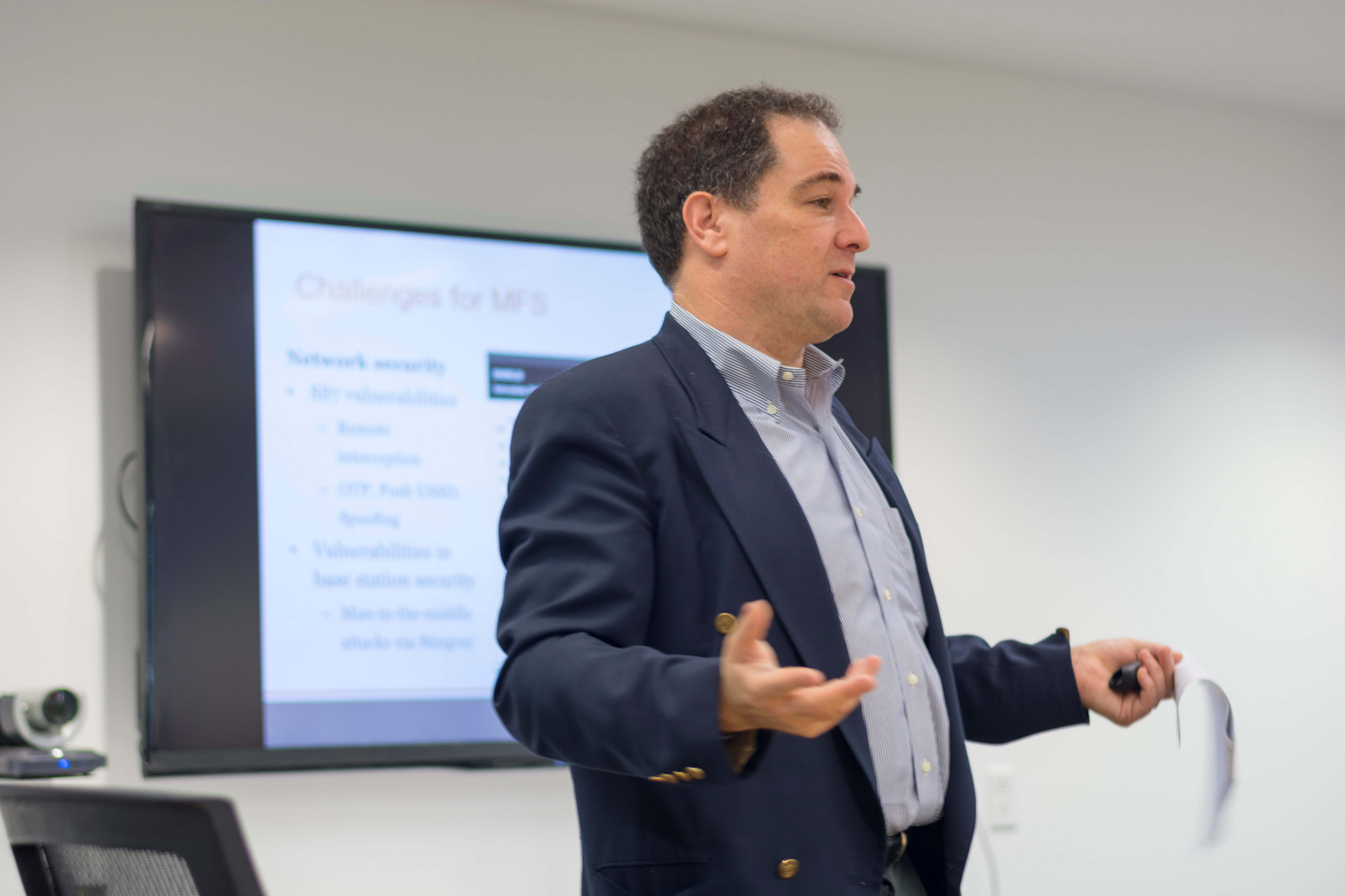 CFI Fellow Leon Perlman presents findings from his report, Technology Inequality: Opportunities and Challenges for Mobile Financial Services, in April 2017.