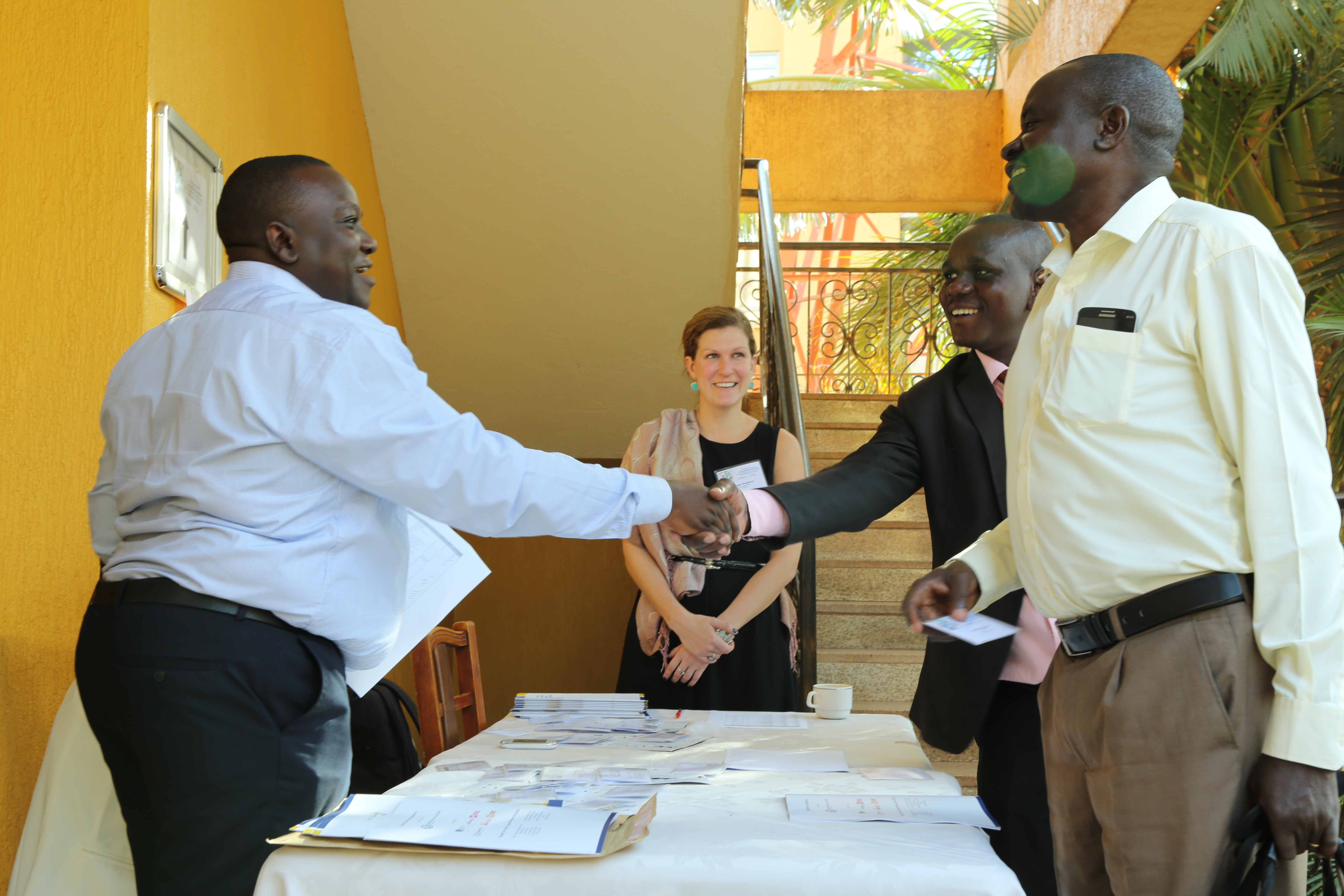 PRFI hosts a convening of financial inclusion stakeholders in Uganda, January 2017.